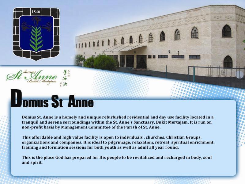 About Domus St. Anne